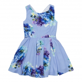 Сарафан СА-1122-68 Blue flowers