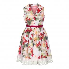 Платье ПЛ-1348-69 Клубничный сад